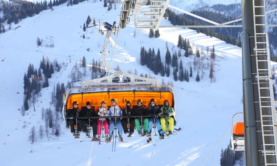 Tyrol play … St Johann has good slopes for beginners.