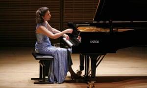 Angela Hewitt at the Royal Festival Hall.