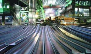 Steel mills such as this one in Chongqing, China , attracted massive investment when the steel price was high.