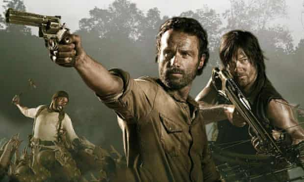 The Walking Dead is among the shows on Sky's video-on-demand service Now TV.