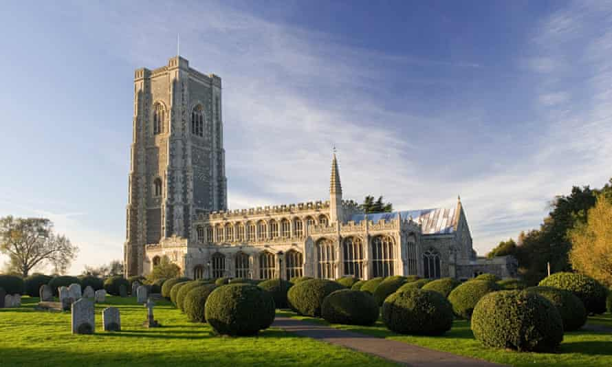 St Peter's and St Paul's in Lavenham, Suffolk