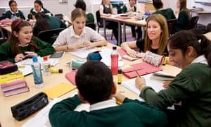 A teacher at Lightwoods Primary School in Oldbury, West Midlands