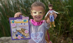 Arklu's Super Lottie doll was designed by six-year-old Lily, from Ohio.
