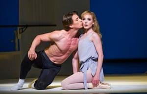 'Dream-like': Vadim Muntagirov and Sarah Lamb in Afternoon of a Faun.