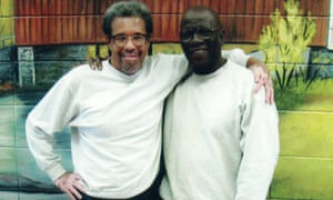 Albert Woodfox, left, with Herman Wallace, who was released pending a retrial but died before it could take place.