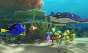 Bigger, better, wetter? ... Finding Dory hopes to match the success of the original.