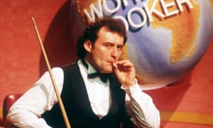 Jimmy White during the Embassy World Snooker Championship at the Crucible in Sheffield, May 1994.