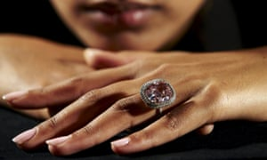 The pink diamond has been dubbed The Sweet Josephine by its new owner.
