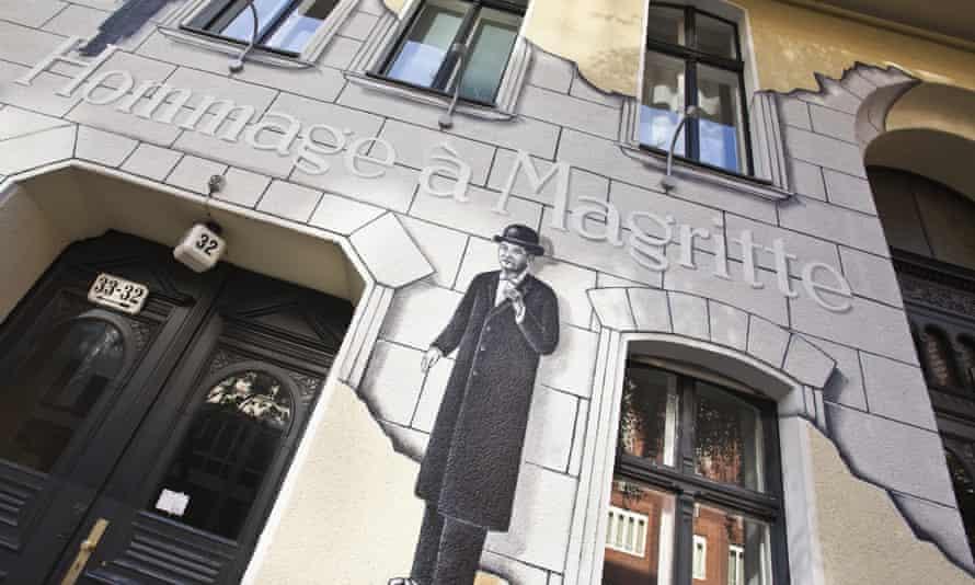Hommage à Magritte, Berlin.