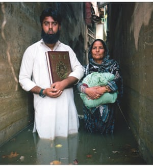 flood victims in India
