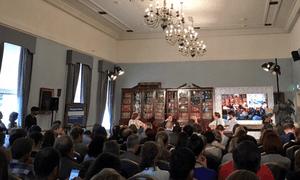 The Guardian's Web Summit panel on digital politics.
