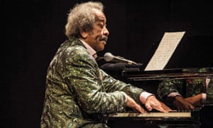 Allen Toussaint performing at Lara theatre in Madrid, which was to be his final performance