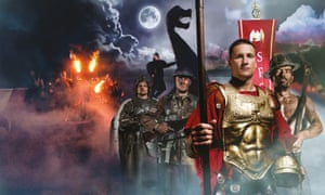 Promotional shot for Kynren event showing aspects from the show.