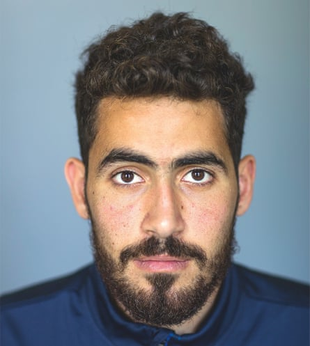 Goalkeeper Muhannad Hussein
