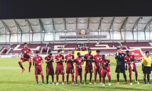 Qatar's under-23 squad