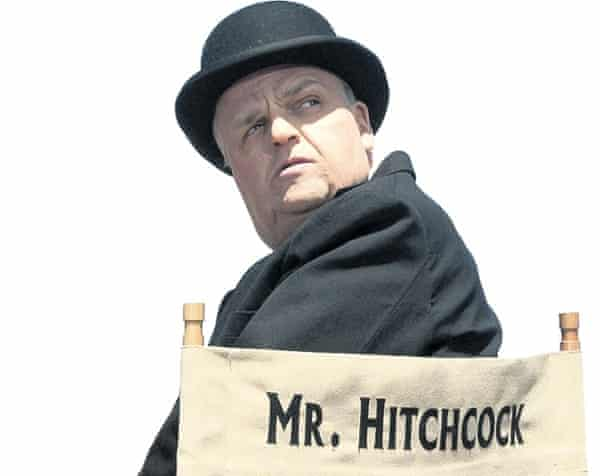 Photograph of Toby Jones as Alfred Hitchcock in The Girl