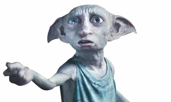 Photograph of Dobby in Harry Potter
