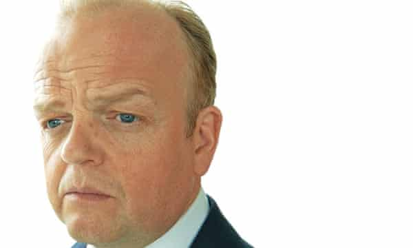 Toby Jones as banker Roger Yount in the TV adaptation of John Lanchester's Capital