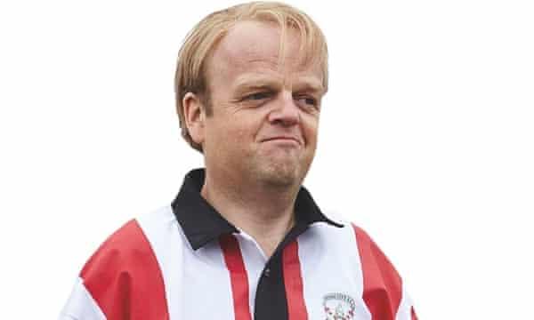 Toby Jones as Stoke City-mad Neil Baldwin in Marvellous