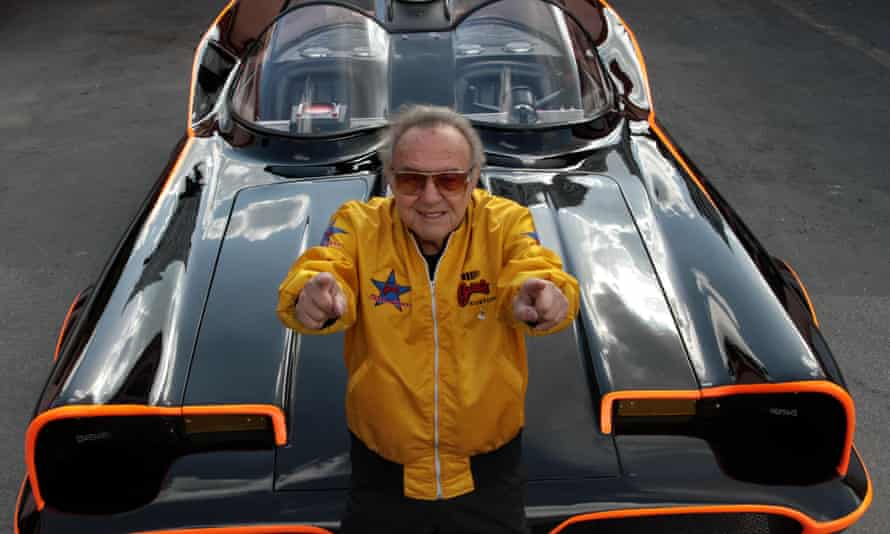 "George Barris, creator of the Batmobile, who earned the nickname ""King of the Kustomizers"""