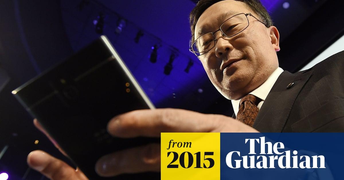 BlackBerry boss John Chen: security focus heralds return