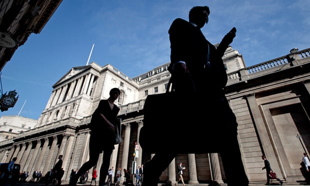 Bank of England headquarters ahead of policy meeting