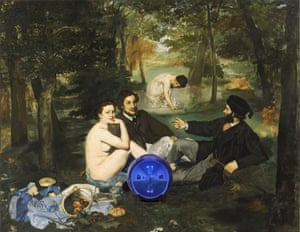 Gaze a gazely stare: Koons's Gazing Ball (Manet Luncheon on the Grass).