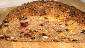 Suzanne Anderegg took this pic of her spiced fruit and nut bread with clementines.