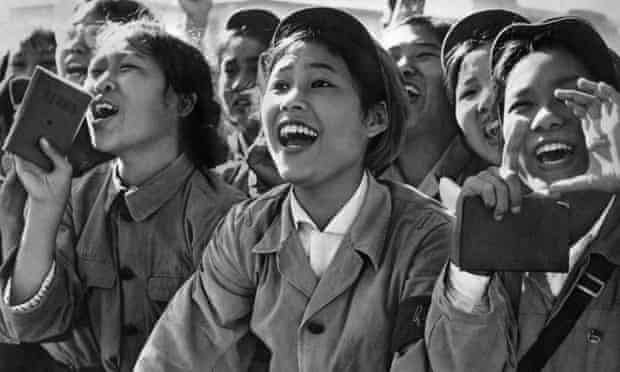 Members of the Chinese red guards, 1966.