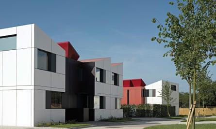 Oxley Woods development in Milton Keynes