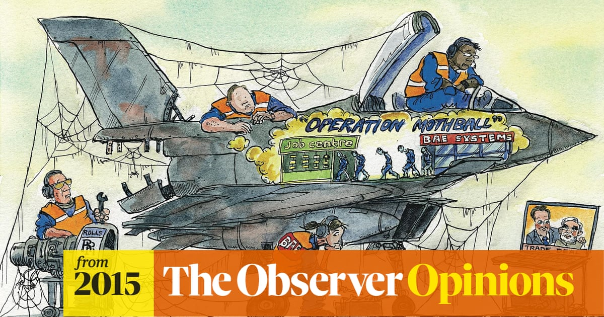 We hoped for a march of the makers, but even BAE is failing to produce the  goods | BAE Systems | The Guardian