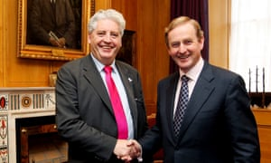 Alasdair McDonnell, left, pictured with the Irish prime minister, Enda Kenny, in 2011.