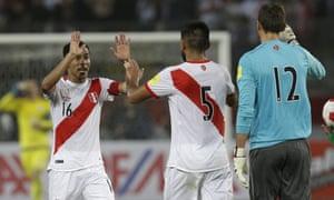 Peru celebrate