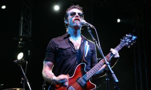 Eagles of Death Metal's frontman, Jesse Hughes