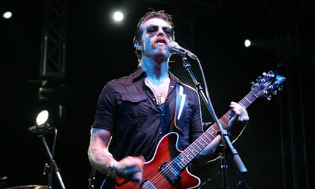 Eagles of Death Metal's frontman, Jesse Hughes
