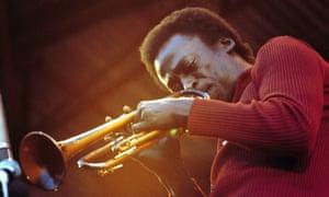 Miles Davis performing live onstage