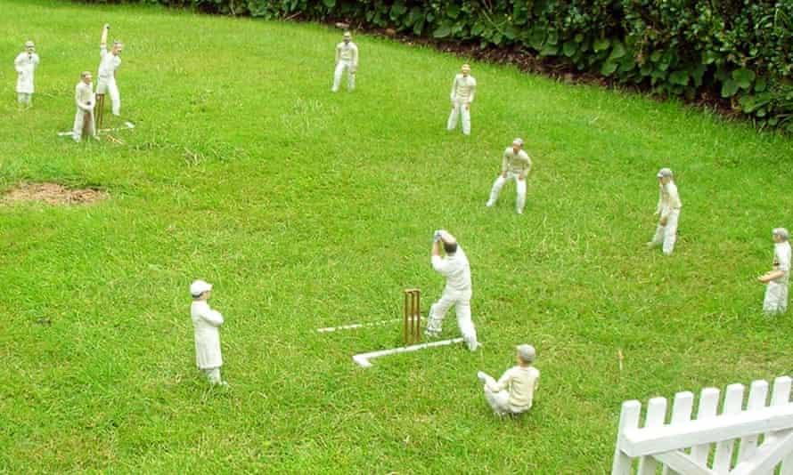 A cricket match in Bekonscot