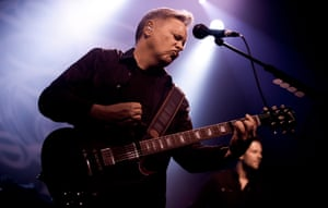 Bernard Sumner of New Order performs at the Bataclan in October 2011.