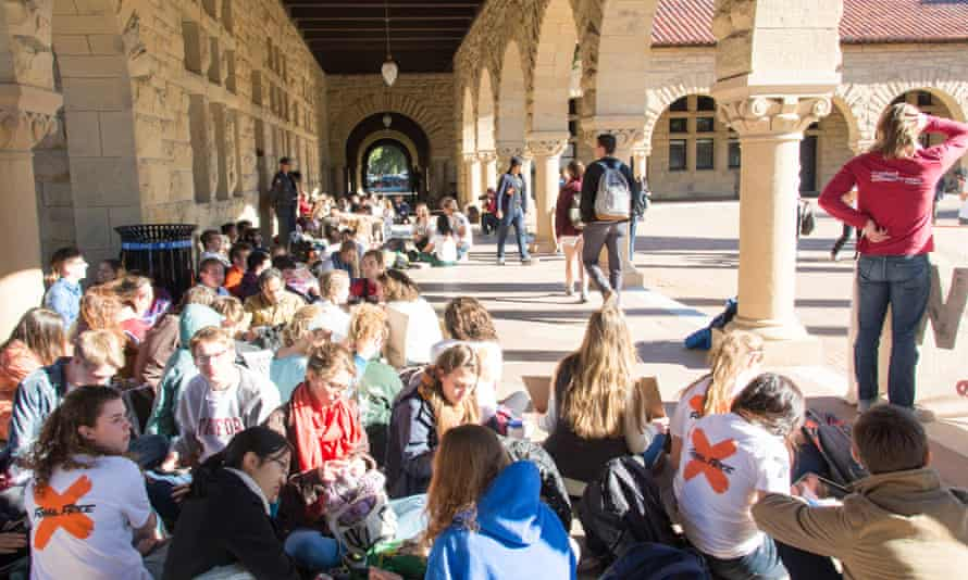 Stanford is a private institution with around $22.2bn of endowment funds that include fossil fuels