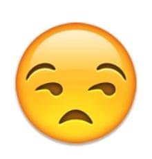 unamused emoji