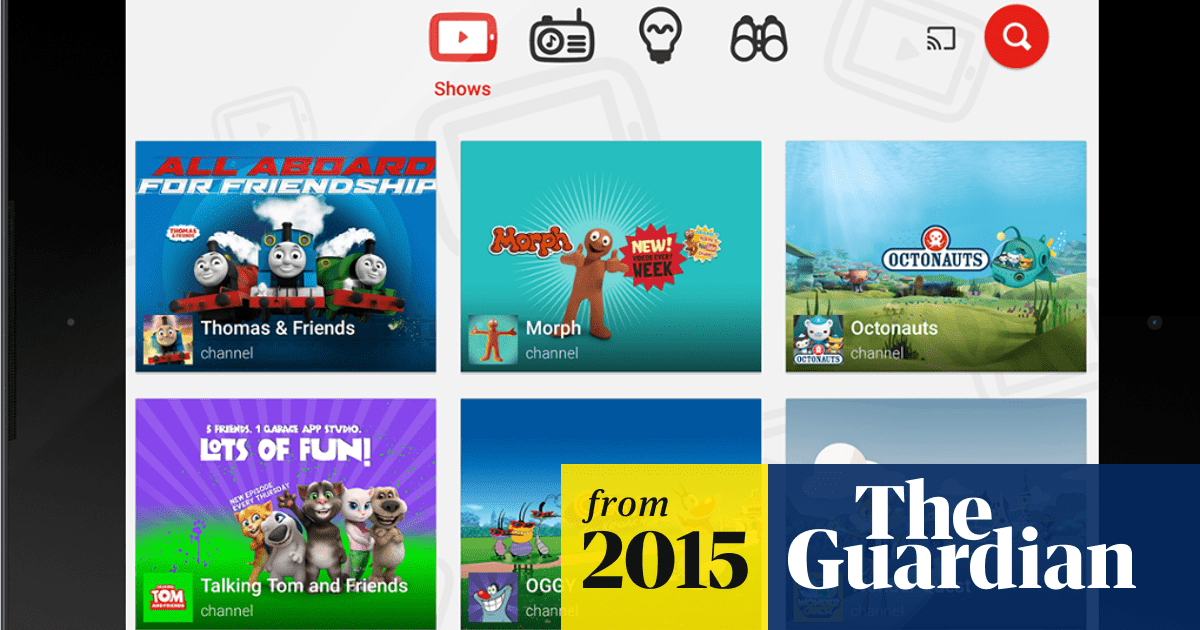 YouTube Kids app launches in UK and Ireland for child-friendly
