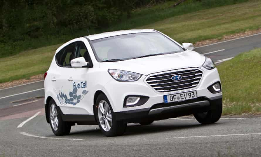 Clean and serene: the Hyundai ix35 Fuel Cell is smooth and easy to drive.