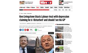 Mirror Ken Livingstone story