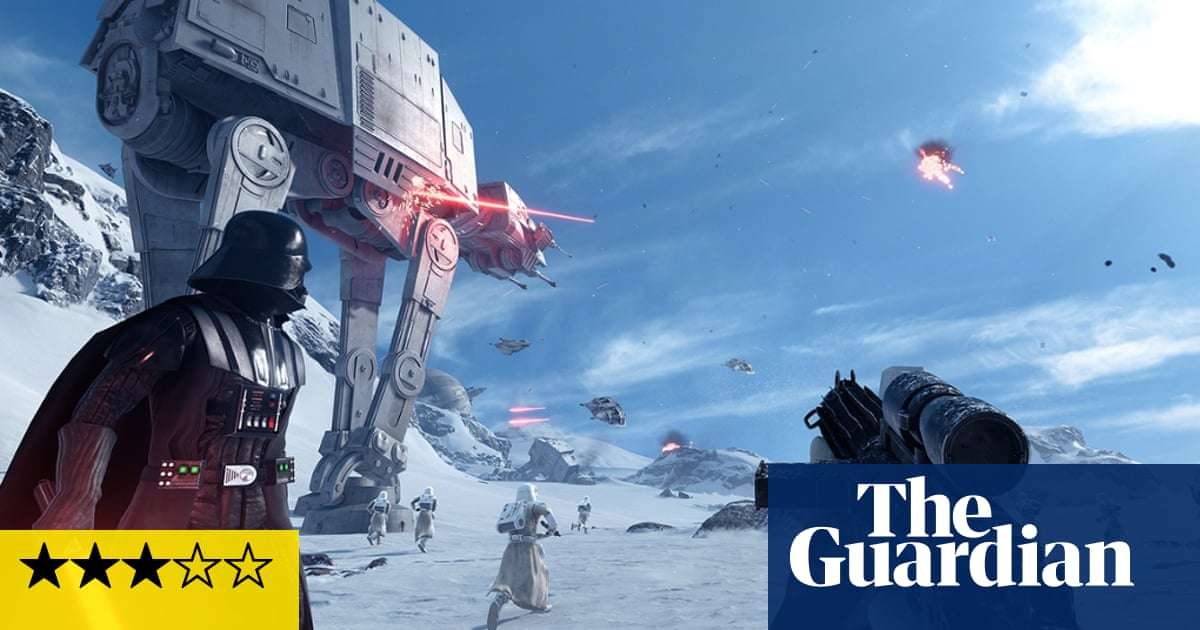 Star Wars Battlefront Review The Force Is Strong But Not For Long Games The Guardian