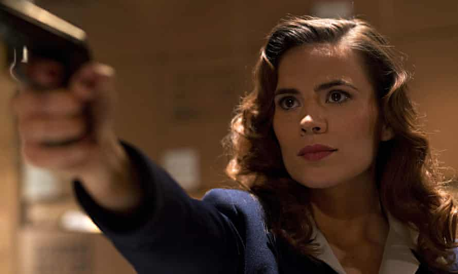 Hayley Atwell as Peggy in Agent Carter.