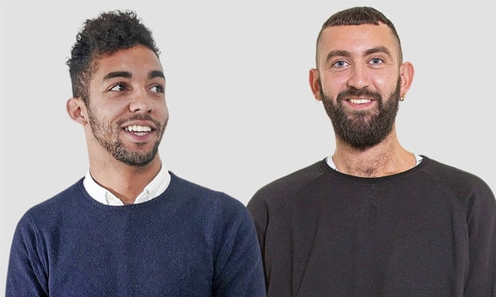 He left for a while… He was on the phone :   Josh, 24, digital marketing executive, and Jack, 27, florist