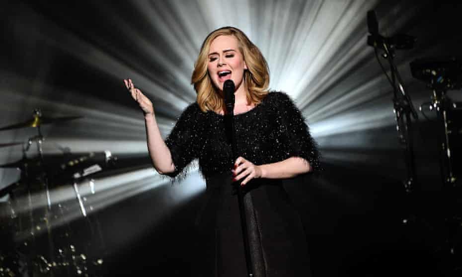 Adele NRJ Music Awards, Show, Cannes, France