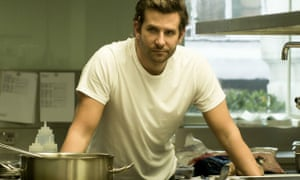 'People were having trouble with the accents' ... Bradley Cooper in Burnt.
