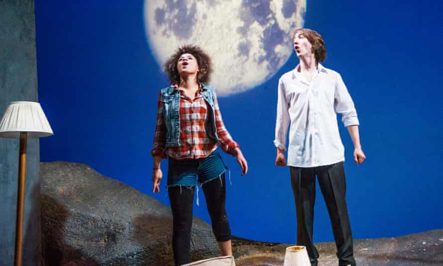Emily Burnett and James Tarpey in First Love Is the Revolution