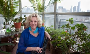 Erica Jong in New York